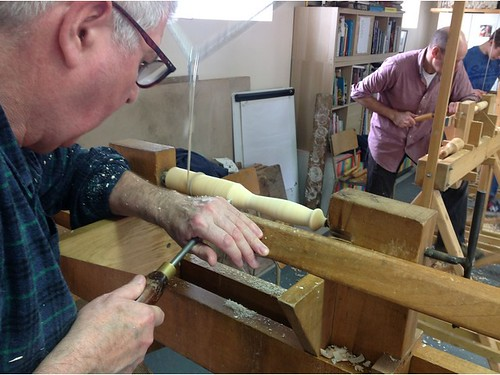 Green Woodworking - Pole Lathe