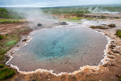 Hot spring at Geysir