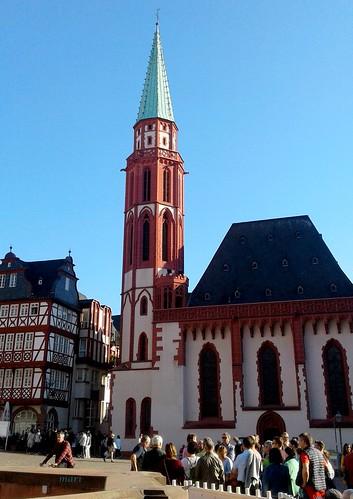 Iglesia de San Nicolás.Frankfurt del Meno, Alemania