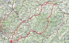 Strecke Monatstour Juli 2021