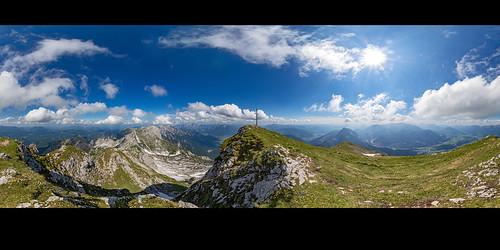 Großer Pyhrgas, 360° Panorama