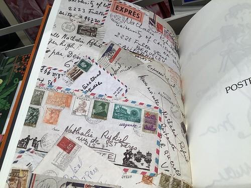 Paris letter, envelope