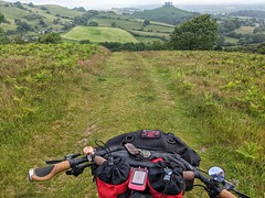 Downhill from Eype common