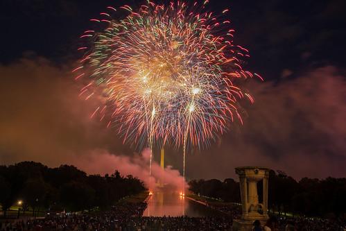 Fireworks in DC