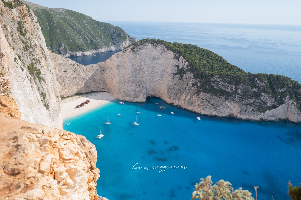 【扎金索斯 Zakynthos】希臘遺世獨立的美景 沉船灣眺望點 搭船前往藍洞與沉船灣(上) @薇樂莉 Love Viaggio | 旅行.生活.攝影