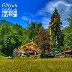 Aufstockung Bergwacht Oberau