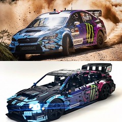 Ken blocks rally car reimagined 😎 head over to @loxlego for more details
