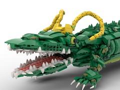 Alligator Loki LEGO MOC