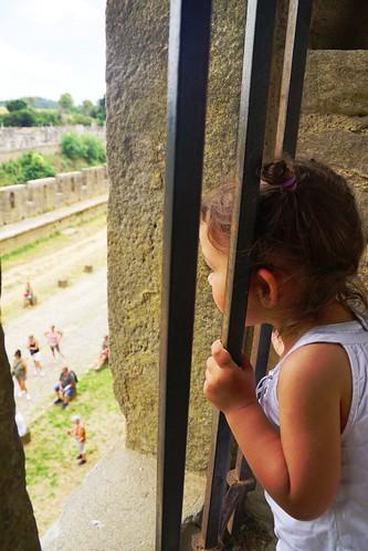 Prisonnière de Carcassonne !