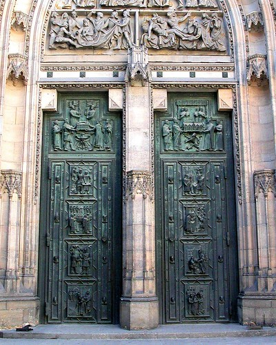 Bronze Doors at St. Vitus