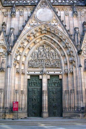 West Portal Door