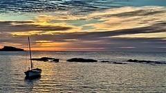 Un amanecer con solaz en Cabo de Palos