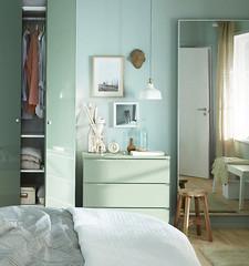 Dresser Painted to Match Wardrobe