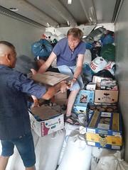 05. Погрузка гуманитарной помощи в Винницкой епархии