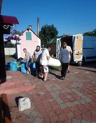 04. Погрузка гуманитарной помощи в Винницкой епархии