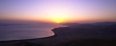 Sunset on Lake Sevan, View from Artanish Mountain, Armenia