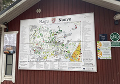 Nauvon kirkonkylän kartta