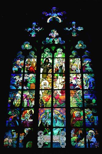 Alphonse Mucha's Window