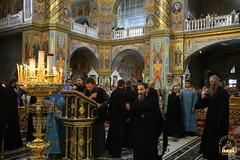 46. Всенощное бдение в Почаевской Лавре