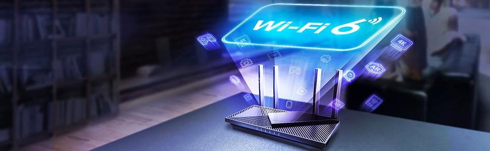 圖2:TP-Link Archer AX21雙頻Wi-Fi 6路由器好市多實體通路限定販售,最高網路速度可達1.8 Gbps!