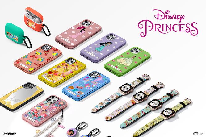 07. CASETiFY 迪士尼公主聯名系列推出以 6 位公主特色而設計的電子配件
