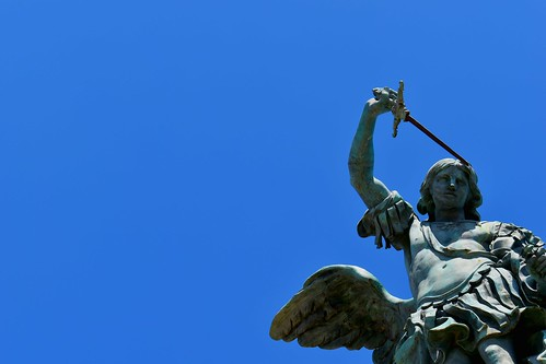 Castel Sant'Angelo statue