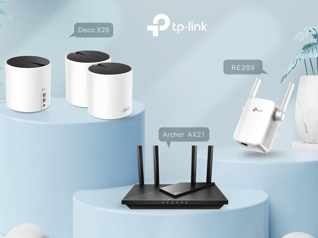 圖1:全球Wi-Fi設備銷售連續10年冠軍TP-Link首度進軍好市多,雙頻Wi-Fi 6路由器Archer AX21、Wi-Fi訊號延伸器RE205與Deco X25優惠高達77折!