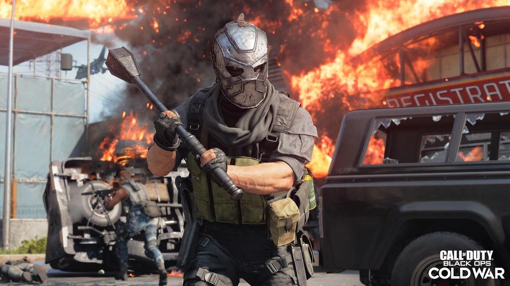 《決勝時刻》第四季再起,路霸手持全新近戰武器- 鐵槌