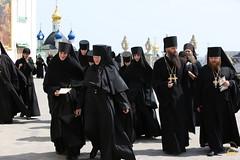 106. Съезд настоятелей и настоятельниц монастырей УПЦ в Почаевской Лавре