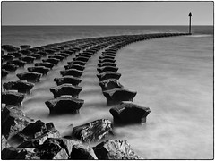 High Tide at the Breakwater