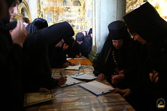 124. Съезд настоятелей и настоятельниц монастырей УПЦ в Почаевской Лавре