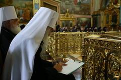 123. Съезд настоятелей и настоятельниц монастырей УПЦ в Почаевской Лавре