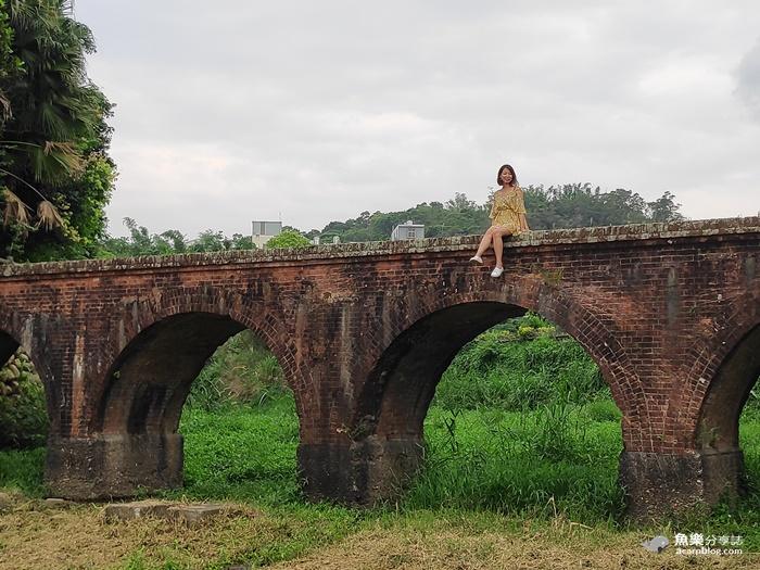 【桃園龍潭】大平紅橋|熱門IG打卡景點 @魚樂分享誌