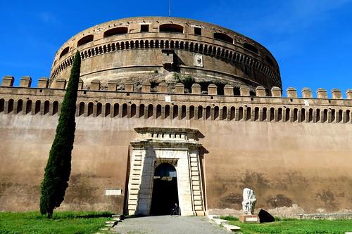 Mausoleum of Hadrian, East Entrance