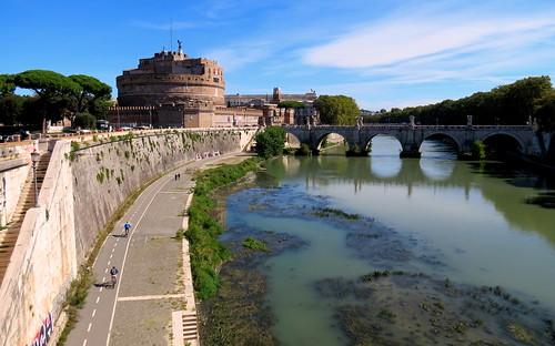 Mausoleum of Hadrian on the Tiber