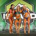 Women's Wellness -Open class A- 2nd Juliana Vallee - 1st Laura Ault - 3rd Laura Wicki-Stordeur