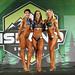 Women's Wellness -Open class B- 2nd Tia Ricard - 1st Alex Goebel - 3rd Letitia Marien