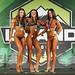 Women's Bikini - Open class B- 2nd Kassandra Chretien - 1st Roxi Izquierdo Yanez - 3rd Zerina Mariano