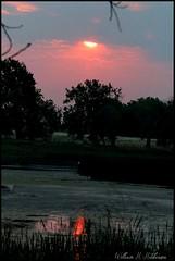 July 13, 2021 - A smoky sunrise. (Bill Hutchinson)