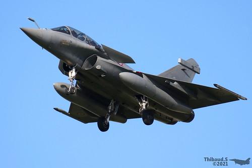 Dassault Rafale B ARMEE DE L'AIR 4-FK 344 St-Dizier juillet 2021