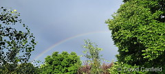 July 1, 2021 - Rainbow ends the day. (David Canfield)