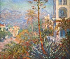 """""""Les Villas à Bordighera"""" de Claude Monet (Musée d'Orsay, Paris)"""