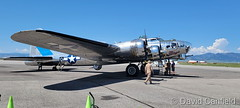 July 5, 2021 - Historical flights in an old bomber at Rocky Mountain Metro Airport. (David Canfield)