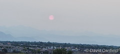 July 11, 2021 - Smoky skies end the day. (David Canfield)
