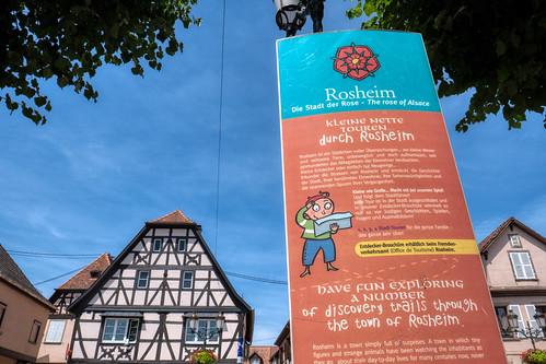 Rosheim information board