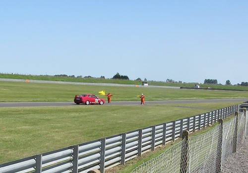 No full cool down lap these days on Snetterton 300
