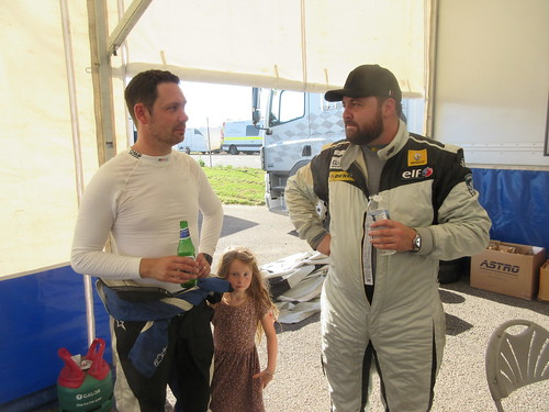 James Ford and Jon Billingsley discuss the 2 lap race 1
