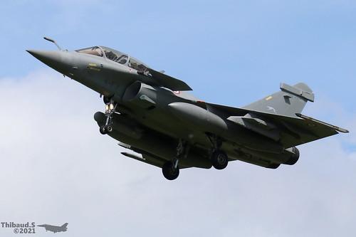 Dassault Rafale B ARMEE DE L'AIR 4-FY 358 St-Dizier juillet 2021