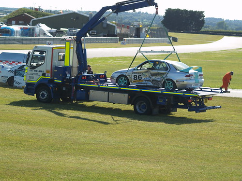 Not a pretty sight after race 1 clash