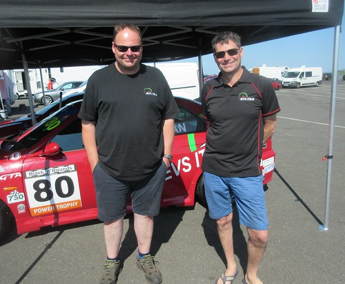Kevin and Roger Evans hoping for a better race 2